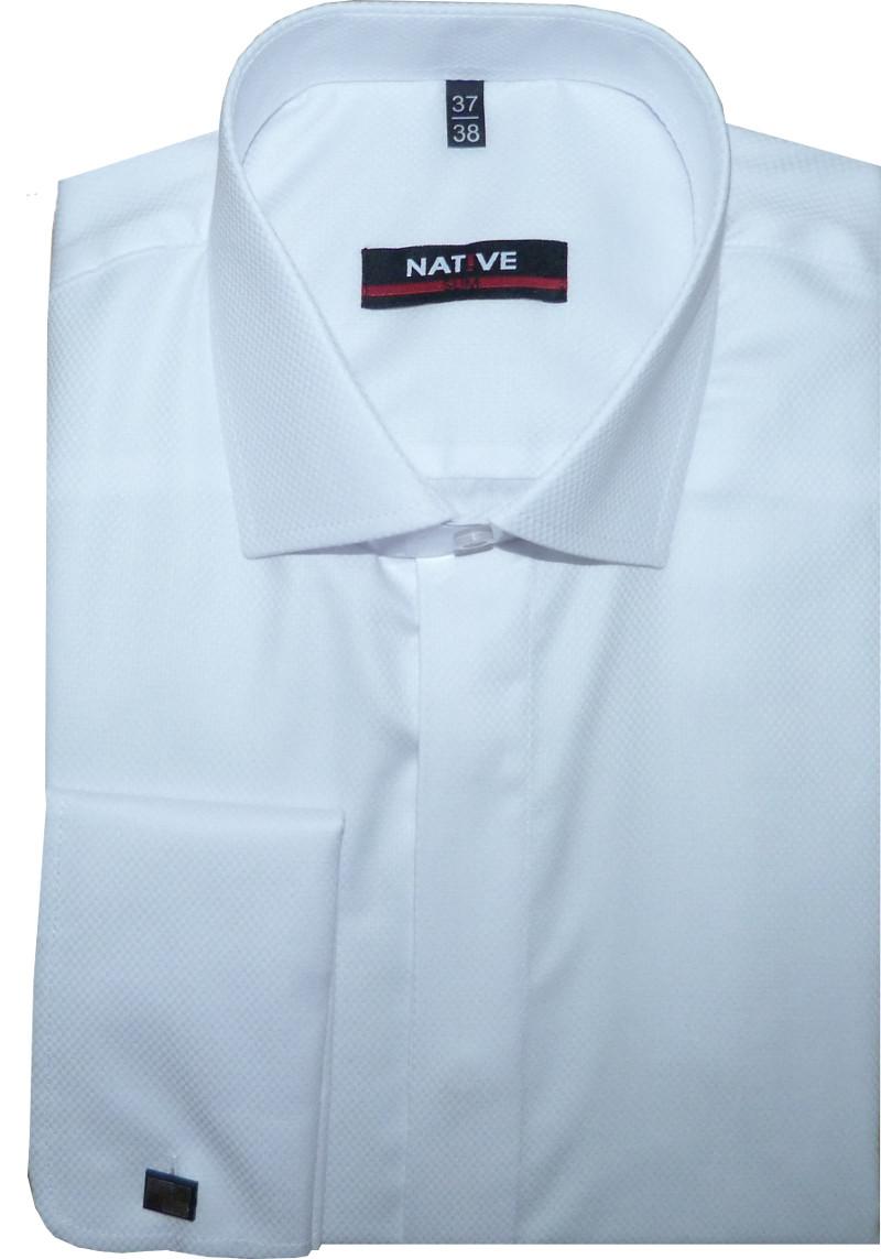 Pánská košile na manžetové knoflíčky 26a4ddc719