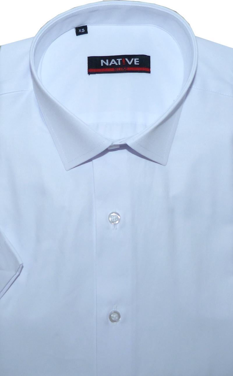Pánská košile (bílá) s krátkým rukávem 2d9e66cc52