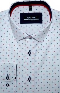 Pánské košile s dlouhým rukávem - velikost 45 46 (XXL) 4b1918e655